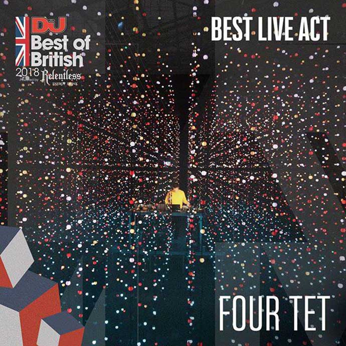 Four Tet Best Live Act DJ Mag Best Of British Awards 2018