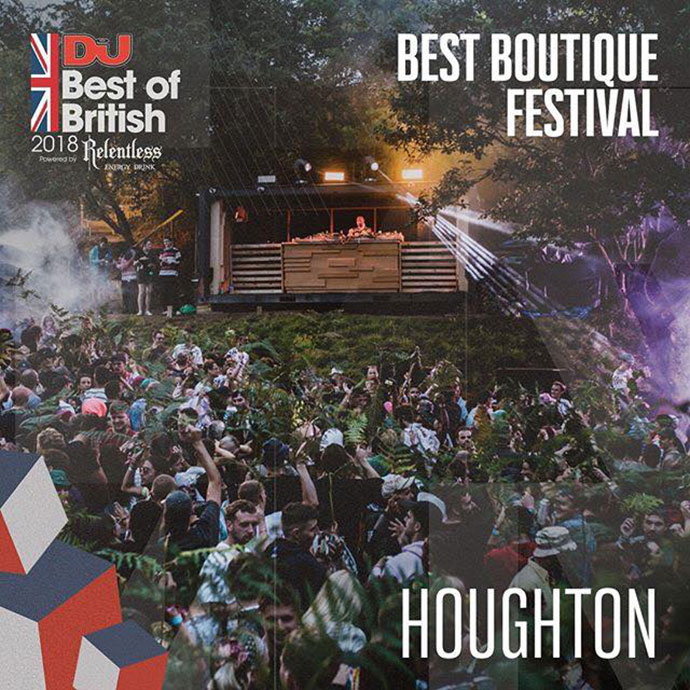 Houghton Best Boutique Festival Mag Best Of British Awards 2018