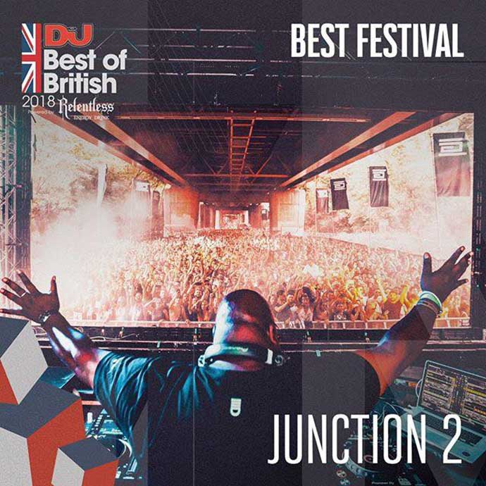 Junction 2 Best Festival DJ Mag Best Of British Awards 2018