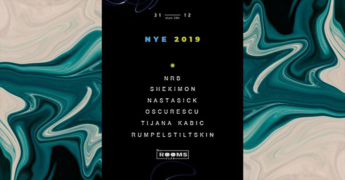 Nova godina 2019 Stendhal Rooms Club Sombor