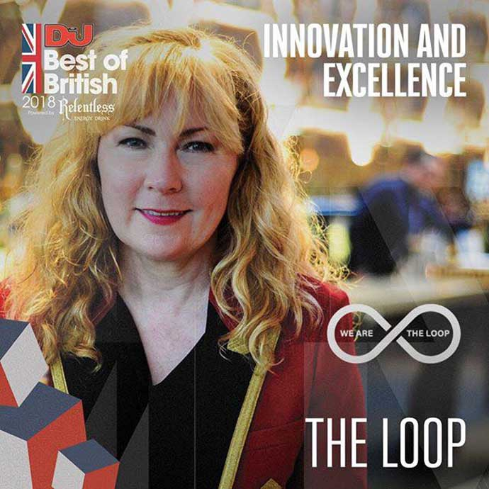 The Loop Innovation Excellence DJ Mag Best Of British Awards 2018