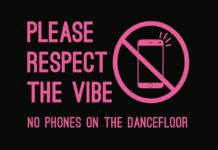 Totalna zabrana mobilni telefoni Dancefloor