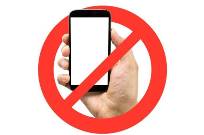 Zabranjeno korišćenje mobilnih telefona