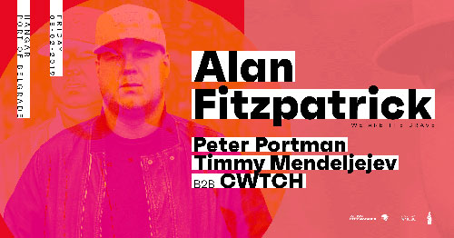 Alan Fitzpatrick Peter Portman Oscillate Hangar