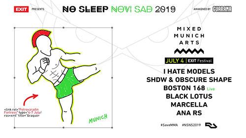 No Sleep Novi Sad 2019 dan prvi line up