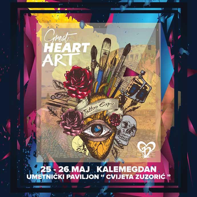 Great Heart Art mart 2019 Beograd