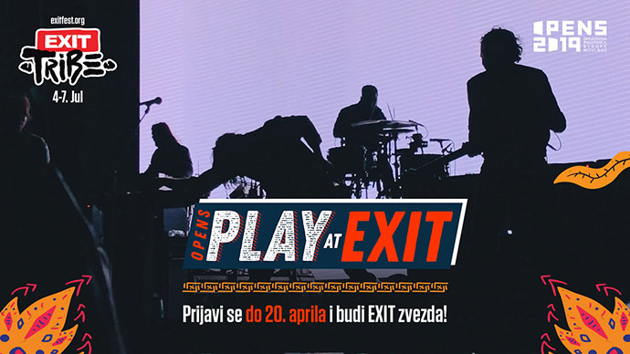 OPENS Play at EXIT konkurs