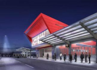 Autobuska železnička stanica Čikago Red Line 95