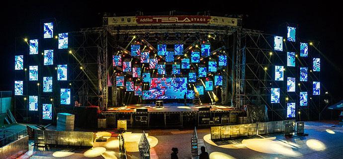 Addiko Tesla Stage Sea Star festival 2019