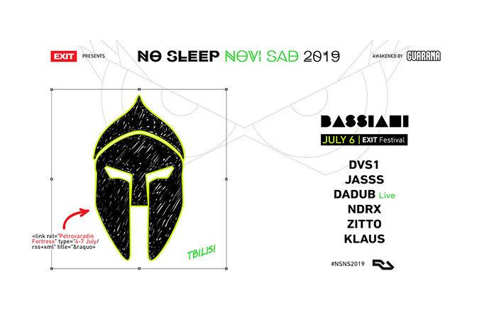 Bassiani No Sleep Novi Sad EXIT festival 2019