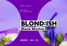 Blondish Black Motion Barutana