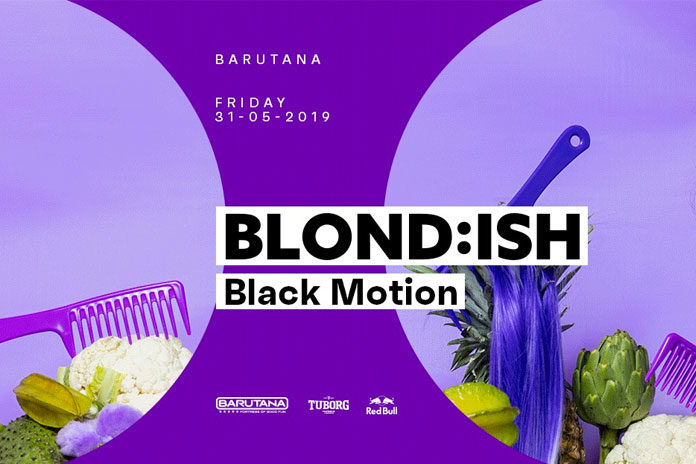 Blondish Black Motion Barutana