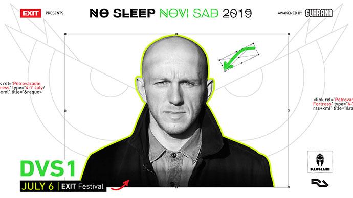 DVS1 No Sleep Novi Sad Bassiani EXIT festival 2019