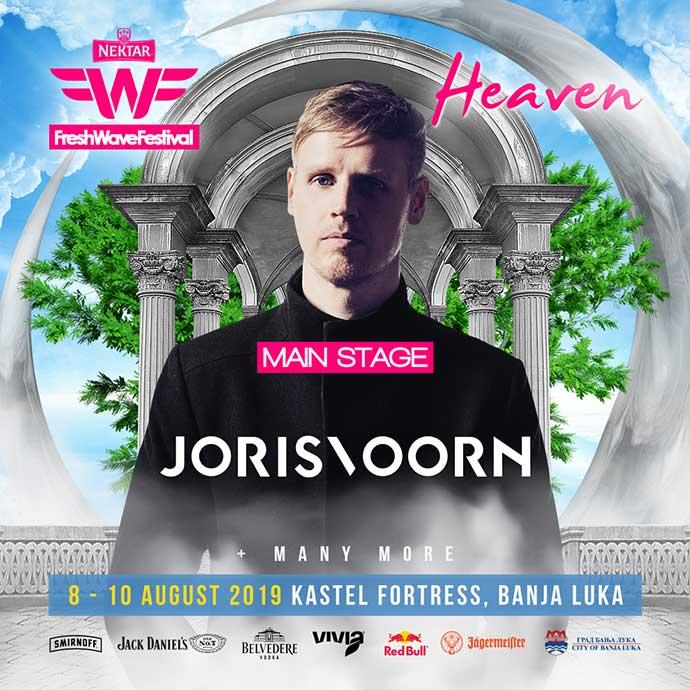 Joris Voorn Fresh Wave festival Heaven