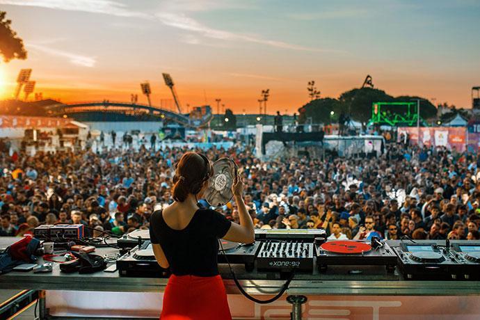 Nina Kraviz Sea Star festival 2019