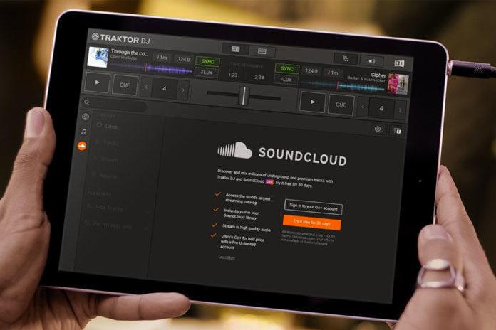 SoundCloud Traktor DJ 2