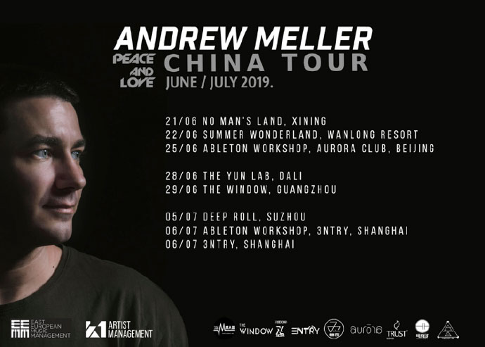 Andrew Meller China Tour