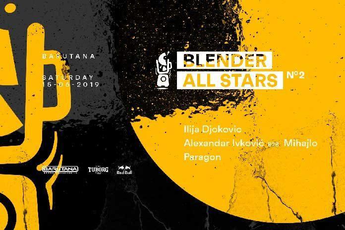 Blender All Stars 2 Barutana