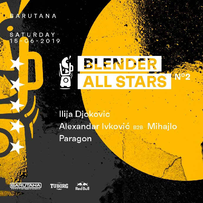 Blender All Stars 2 Ilija Djokovic Mihajlo Alexandar Ivković Paragon Barutana