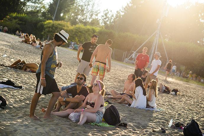 EXIT 2019 kamp plaža Štrand
