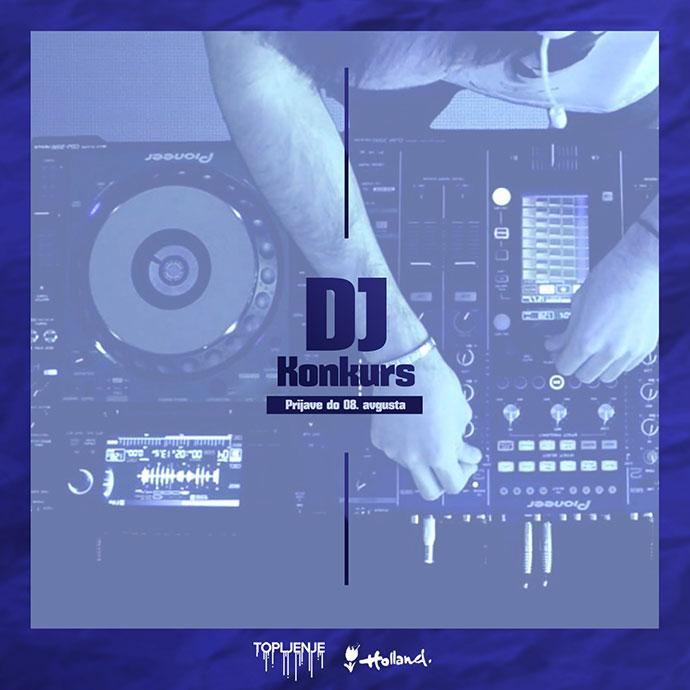 DJ konkurs Topljenje 2019