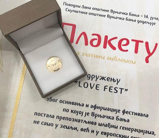 Lovefest plaketa 2019