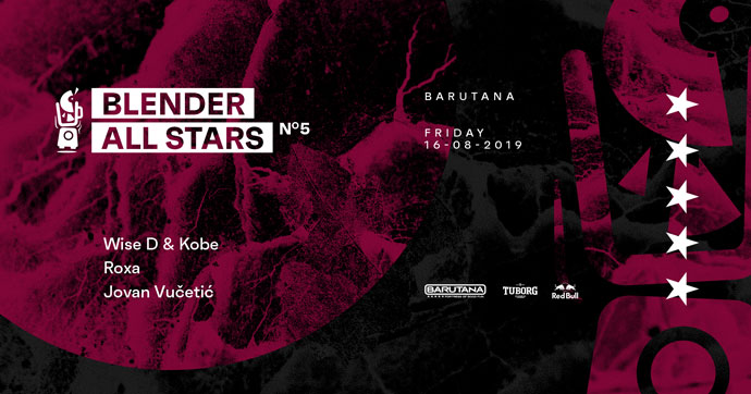Blender All Stars 05 Barutana