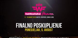 Fresh Wave festival ulaznice
