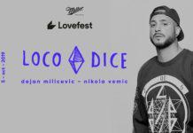 Loco Dice Lovefest Fire Hangar 2019