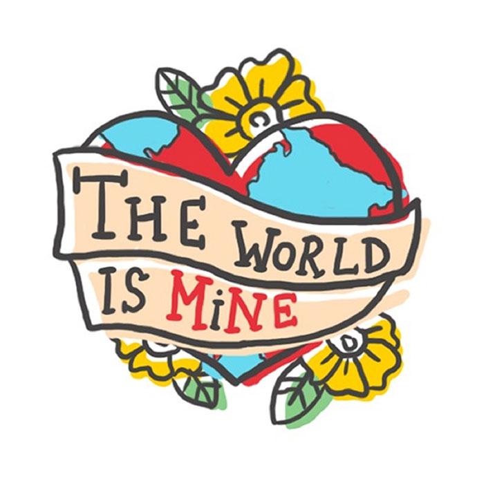 The World Is Mine Viber sticker Sea Dance festival