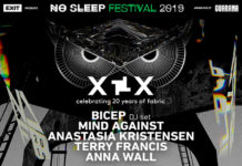 Bicep Mind Against fabric No Sleep festival 2019 Hangar Belgrade