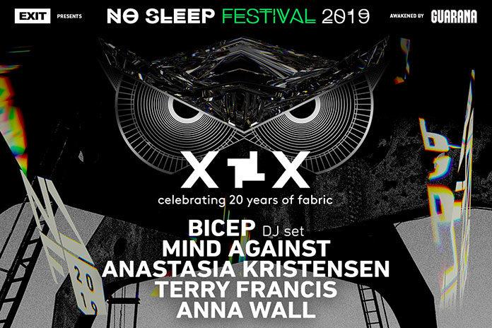 Bicep Mind Against fabric No Sleep festival 2019 Hangar Belgrade