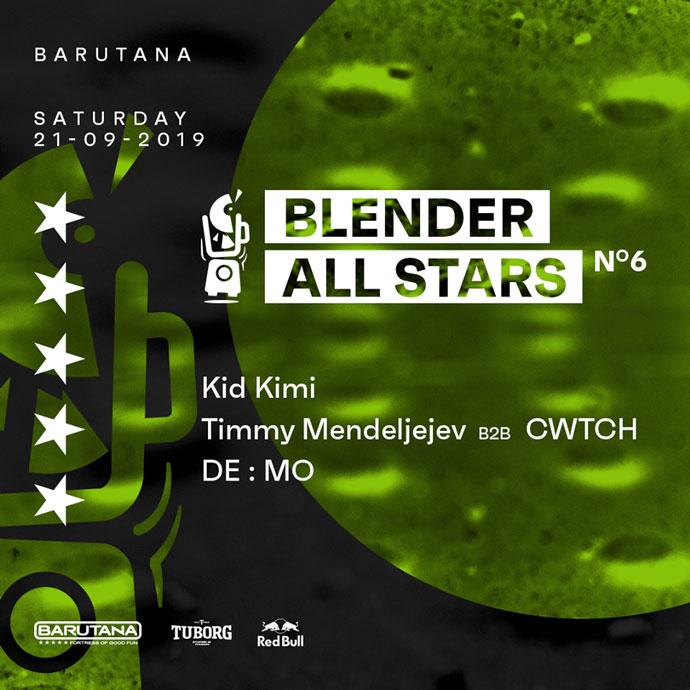 Blender All Stars 6 Kid Kimi Demo Timmy Mendeljejev CWTCH Barutana