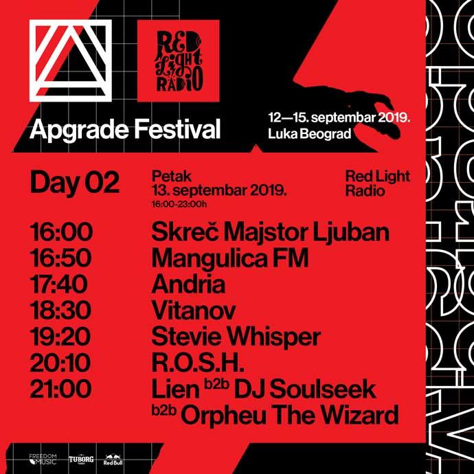 Red Light Radio Apgrade festival 2019