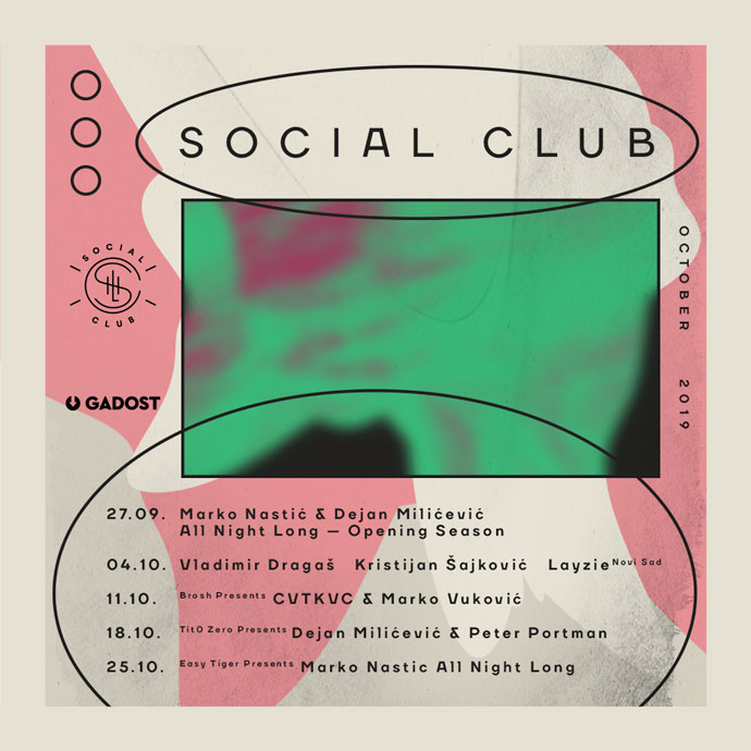 Social Club October 2019 Gadost