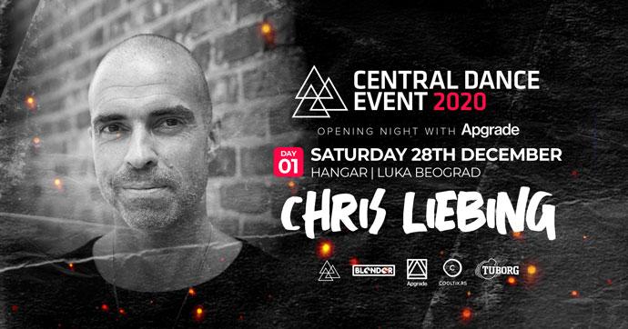 Chris-Liebing Central Dance Event 2020 Hangar