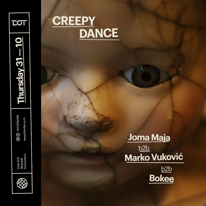Creepy Dance Joma Maja Marko Vukovic Bokee DOT