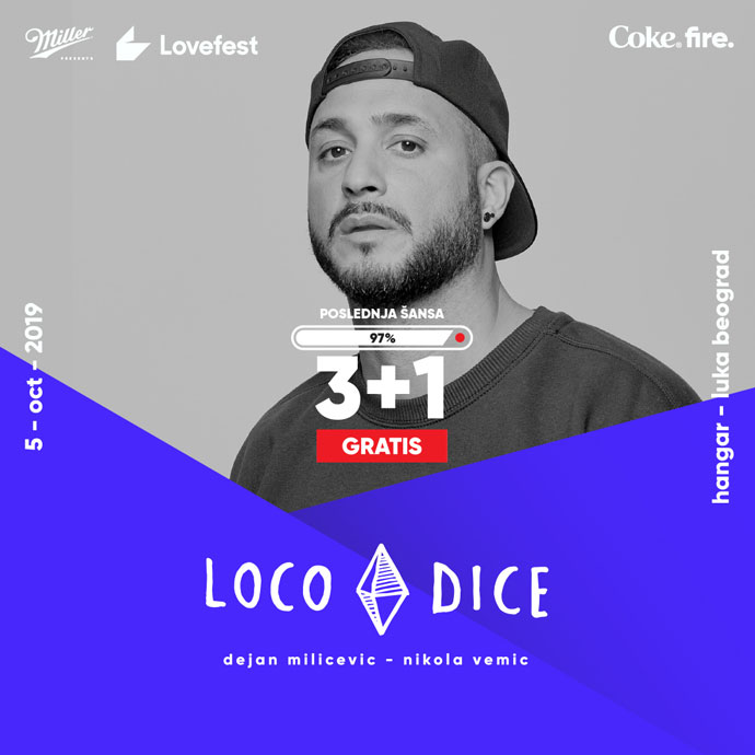 Lovefest Fire Loco Dice 3+1