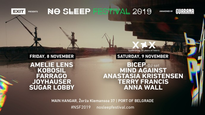 No Sleep Festival 2019 Beograd