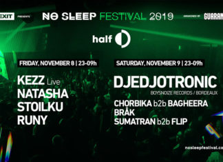 No Sleep festival 2019 half