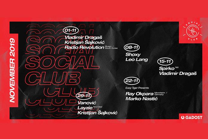 Social Club Novembar