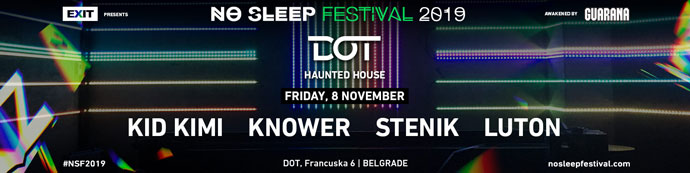 DOT No Sleep Festival 2019 Kid Kimi Haunted House