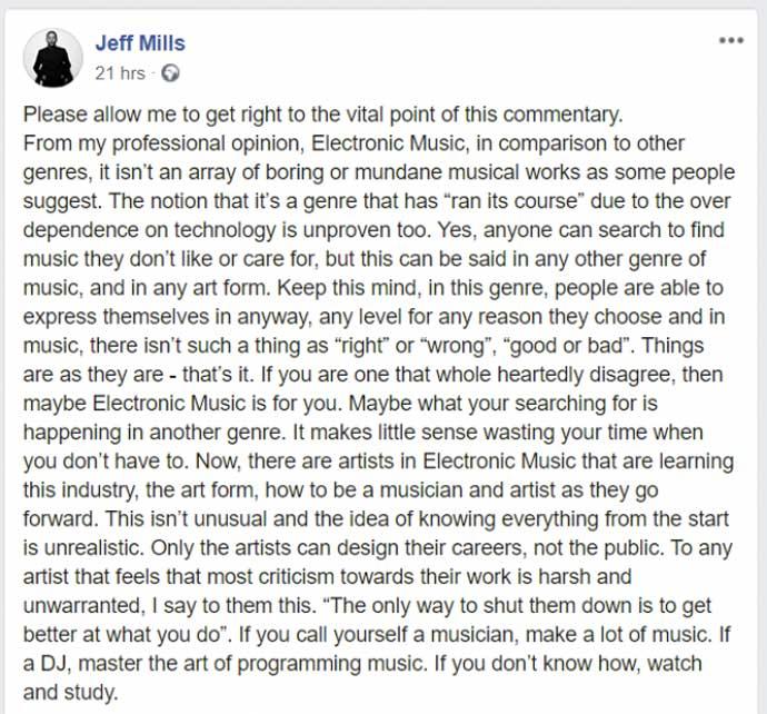Jeff Mills 10 DJ zapovesti