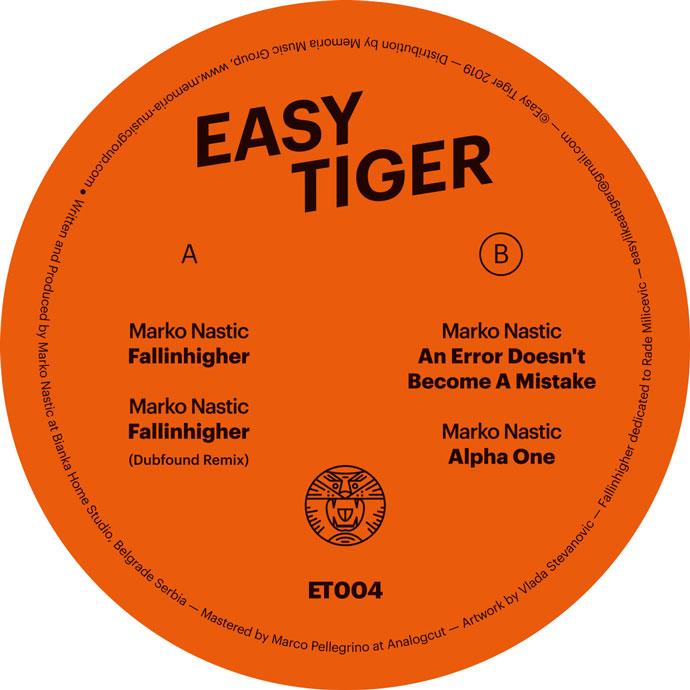 Marko Nastic Fallinhigher Easy Tiger B