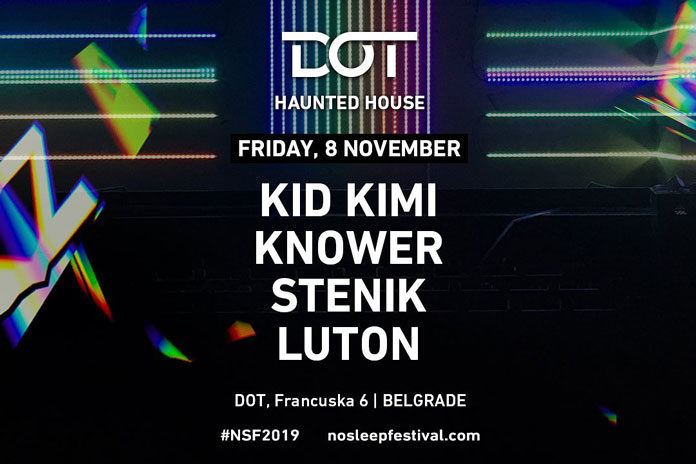 No Sleep Festival 2019 DOT Kid Kimi Haunted House