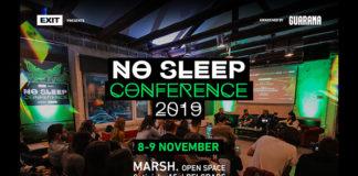 No sleep konferencija 2019