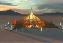Burning Man hram Empyrean