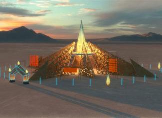 Burning Man hram Empyrean