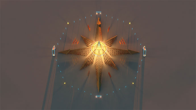 Hram Empyrean Burning Man 2020