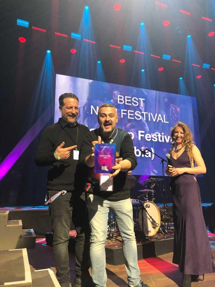 No Sleep Festival Best European New Festival 2020 dodela nagrade